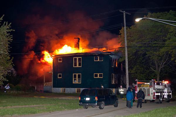Highland Park, Michigan Working House Fire