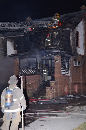 Detroit MI, Box Alarm 04-01-11, Fire Bombing