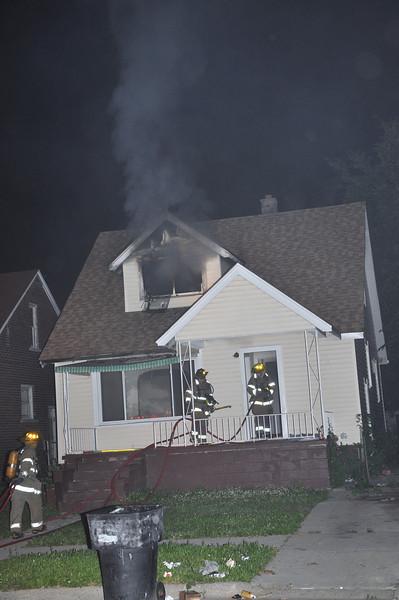 Dwelling Fire/Liberal & Schoenherr/10:20 PM/E60, 58, 38, L23, Sqd. 6, Chief 9. (6-13-09)