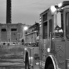 E38 @ rubbish fire at former Continental Tire plant