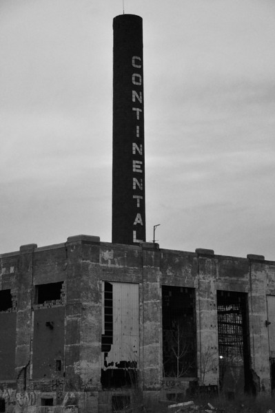 Former Continental Tire Plant