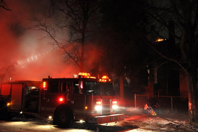 Dwelling Fire/Tuxedo & LaSalle