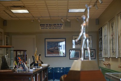 Detroit Tigers memorabilia room