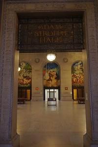 Entrance to Adam Strohm Hall