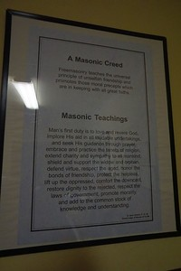 Masonic creed & teachings