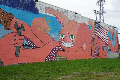 The mutant octopus of Corktown