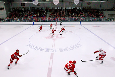 Detroit Red Wings Red-White Scrimmage