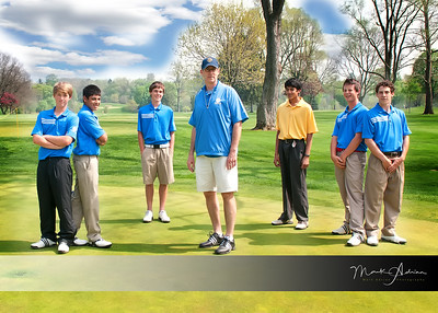 DCD Men's Varsity Golf Team