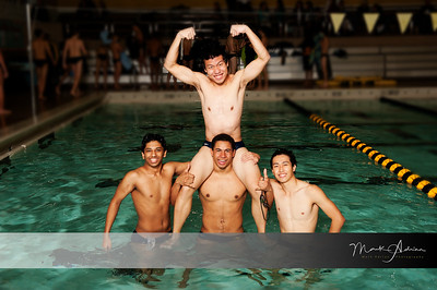 Swim Team Seniors