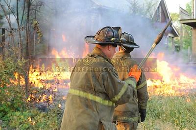 Still Alarm; Garage fire @ Epworth & Vancouver July 4, 2010
