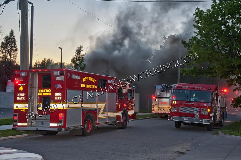 4737 Braden - Occupied House Fire