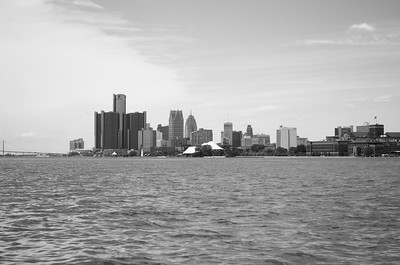 View of Downtown Detroit from Belle Isle