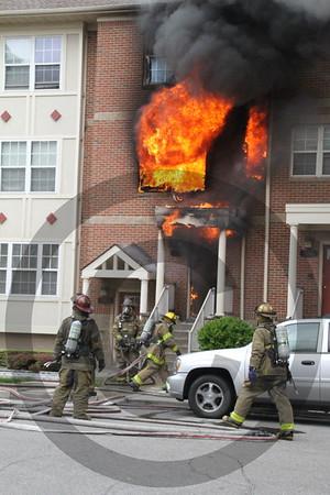Detroit MI 2nd alarm fire 1160 Seldon Street. 7/1/16