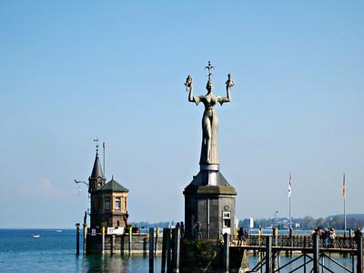 Bodensee: Konstanz - Meersburg (Ostern 2014)