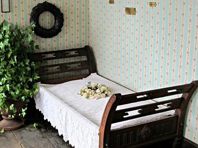 Sterbebett von Annette von Droste-Hülshoff