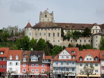 Die Meersburg, die älteste bewohnte Burg Deutschlands
