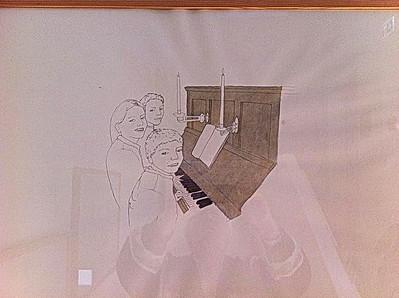 Museum Penzberg - Zeichnung eines 19jährigen
