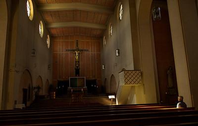 Penzberg - Pfarrkirche Christkönig