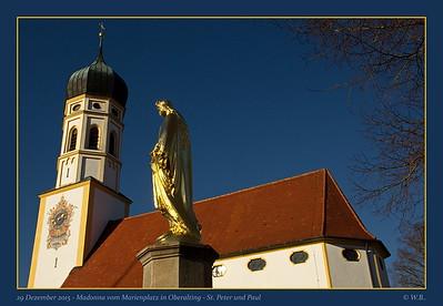 St. Peter und Paul - Madonna vom Marienplatz in Oberalting - Seefeld