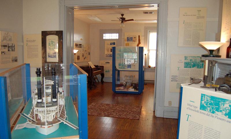 Interior - Floyd County Historical Society Padgett Museum