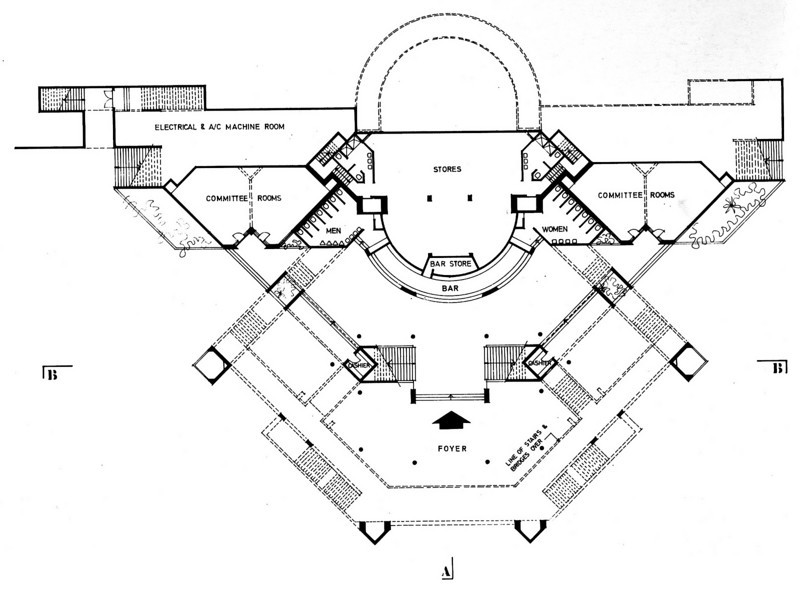 Entrance floor Plan