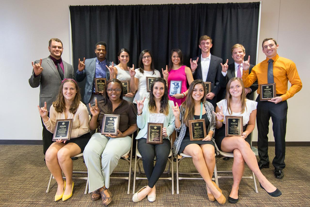 2014 RecSports Student Employee Scholarship Recipients