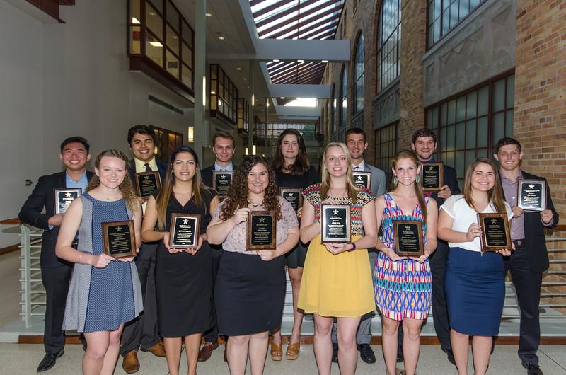 2016 RecSports Scholarship Recipients