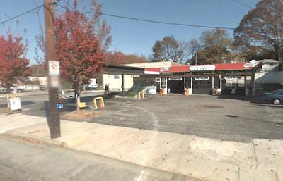 Yeah Burger in Atlanta's Virginia Highlands image courtesy of Google Earth.