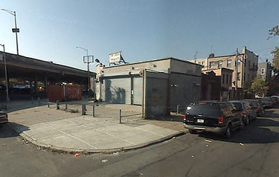 Loreley in Brooklyn image courtesy of Google Earth.