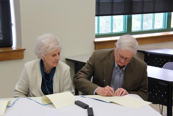 McDaniel's Signing
