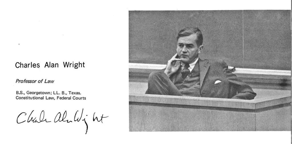 Charles Alan Wright