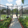 Tennis Court Entry