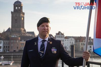 Veteraan Niels van Bockel viert 75 jaar vrijheid in Deventer