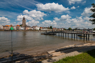 Zomerdag in Deventer aan de IJssel