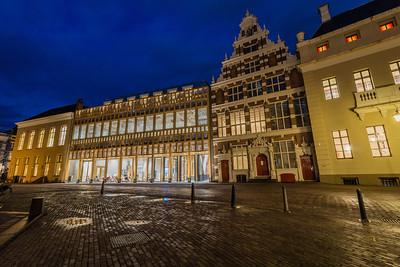 Ingang Deventer Stadhuis aan het Grote Kerkhof