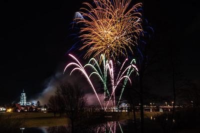 #1425 - Vuurwerk tijdens opening Deventer 1250