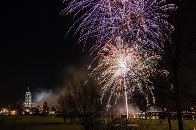 #1179 - Vuurwerk tijdens opening Deventer 1250