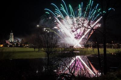 #1454 - Vuurwerk tijdens opening Deventer 1250