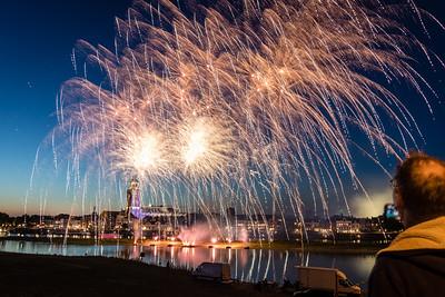 #1178 - Vuurwerk tijdens Deventer Zomerkermis
