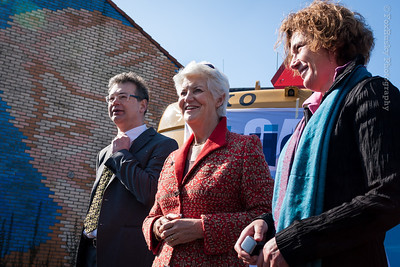 Jos Pierey, Sybilla Dekker en Liesbeth van Asten