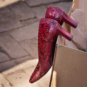 Schoenen van Sybilla Dekker