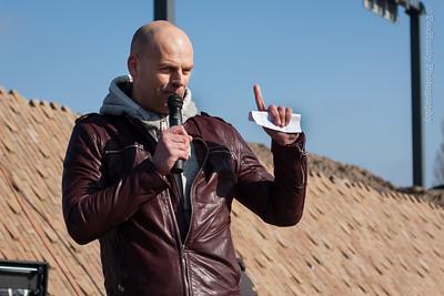 Presentator Bart Kieft