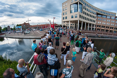 Juli 2012 - tijdens Deventer op Stelten