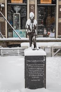 """""""Het Landbouwertje"""" in de sneeuw"""