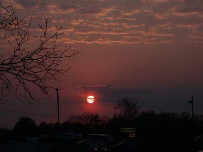 Ware Shoals Sunset