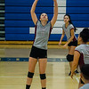 Fitchburg v. Leominster girls volleyball, September 29, 2016. SENTINEL & ENTEPRISE / Ashley Green