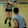 Fitchburg's Caitie Mayo in action against Leominster on Thursday evening. SENTINEL & ENTERPRISE / Ashley Green