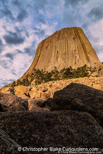 Boulders and Rock - Devils Tower