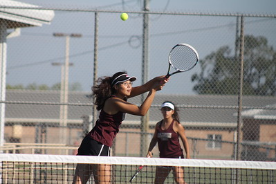 DHS Fall Tennis vs Floresville Sept 9
