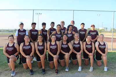 DHS Tennis group shots